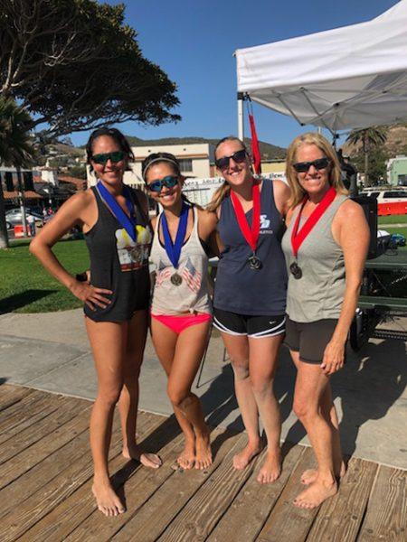 Adriana Rueda champion, Adriana Pham, Caitlin Halliday, Jill Sweeney finalists