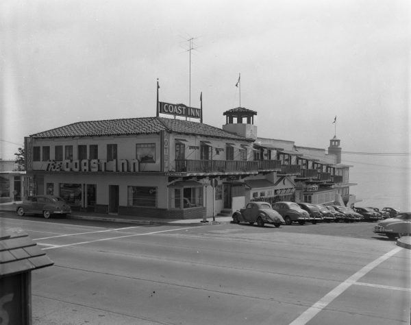 Archival images of the Coast Inn.