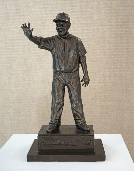 The maquette, or model, of the proposed bronze monument.Photo courtesty of Ludo Leideritz.