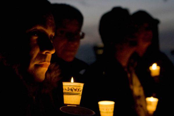 A previous AIDS vigil.