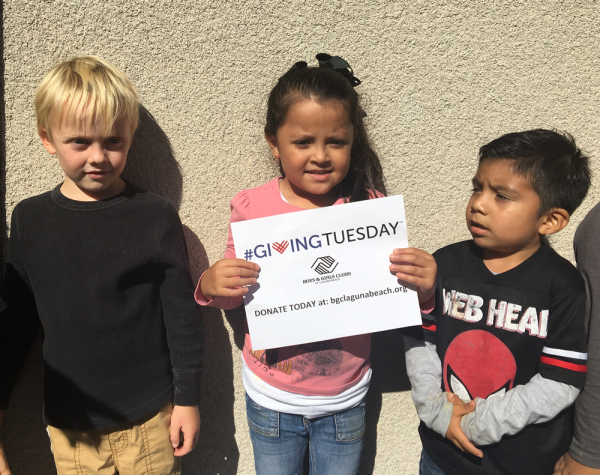 Preschoolers, from left, Luke Stedman, Maylen Torres and J. Carlos Zaragoza make their pitch to support the club.