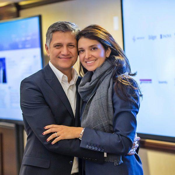 Joe and Sarah Kiani