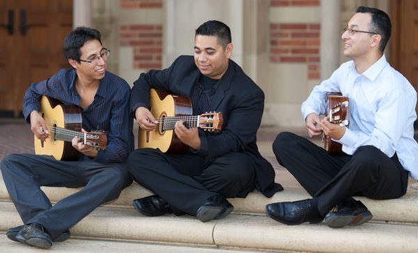 A trio of guitarists are set to strike a chord.