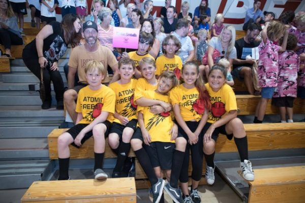 Team Atomic Fireballs, fourth-fifth grade division.