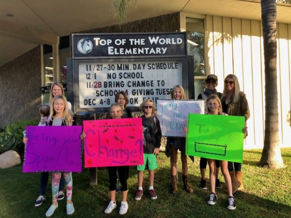 TOW students fundraise for a group helping children in Kenya.