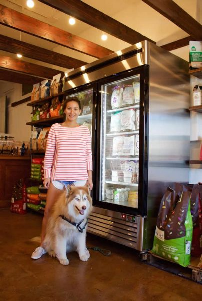Angela LaVelle caters to Laguna's dog owners.