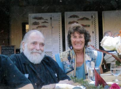 David J. McDonald, left, and his wife Maura McDonald