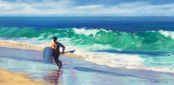 "Joan Gladstone's ""October Surf"""