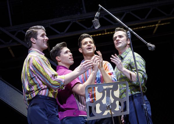 """Jersey Boys"" returns to Segerstrom Center."