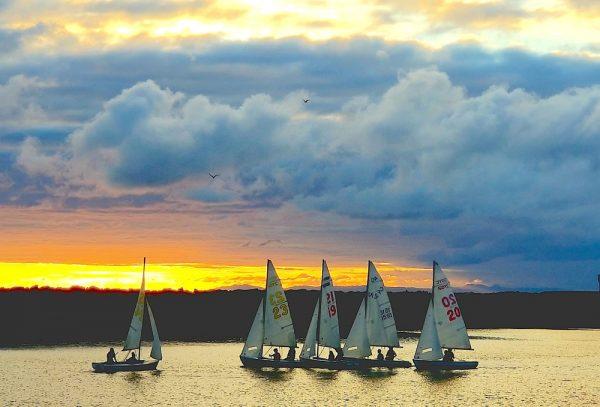 Sea Scouts learn seamanship in Dana Point Harbor.