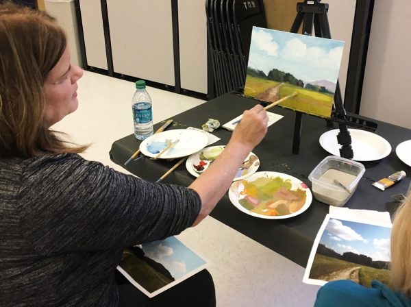 LOCA and LPAPA are offering painting workshops in March. Photo courtesy of LOCA.