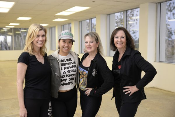 "Laguna locals Kelly Emmes, Geri Kate Pearce, Heidi Miller and Marilyn Brumley will perform in ""Footloose Follies."""