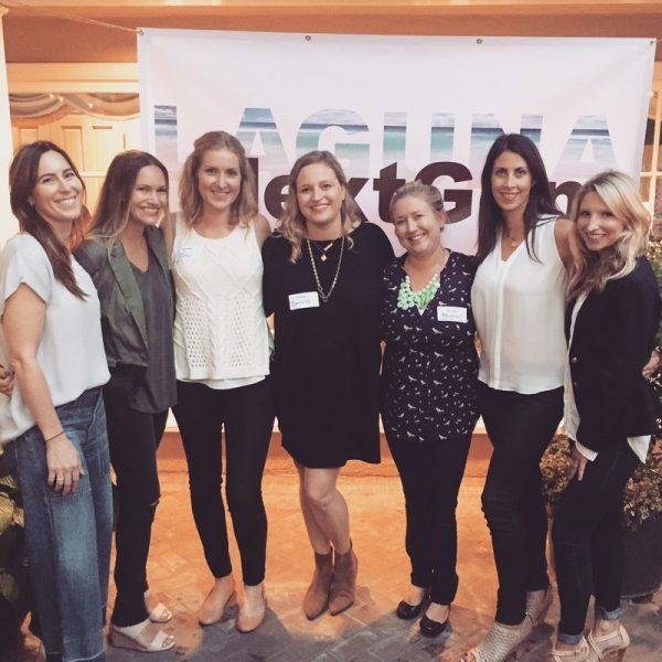 Nextgen board members, from left, Katie MacGillivray, Katrina Puffer, Lea Abel Stone, Danielle Ward Shuster, Meghan MacGillivray Weil, Nicole Anderson and Catherine Talarico.