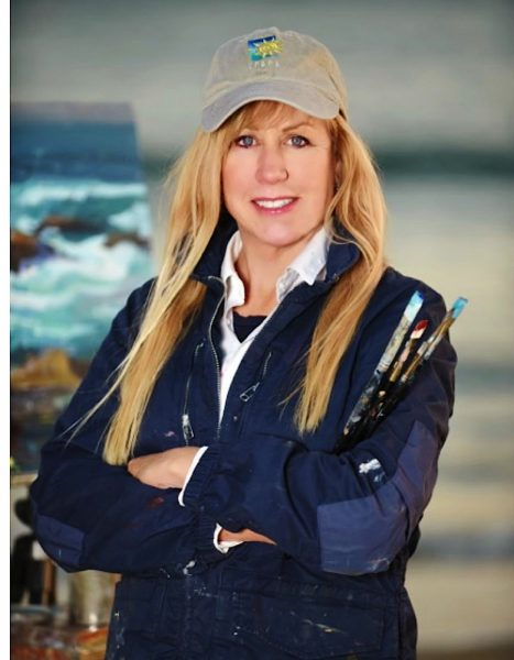 Debra Huse teaches landscape painting March 17.