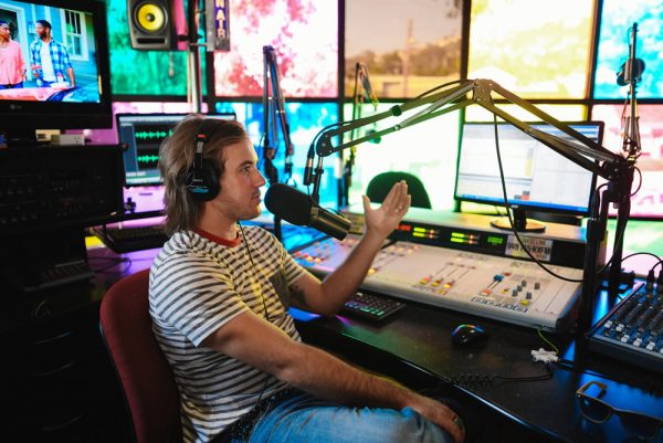 DJ Zach Churchill hosts KX 93.5's morning show.