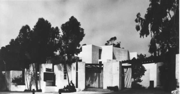 The Playhouse's Moulton Theater in its inaugural year.