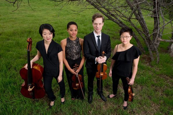 Argus Quartet performs work by contemporary artists at the Laguna Art Museum.