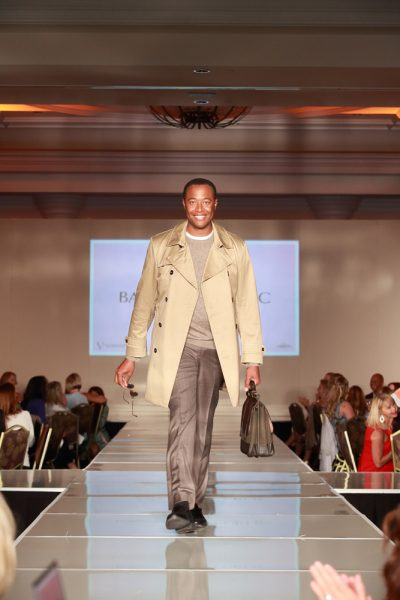 Dr. Ledford Powell wears Banana Republic in a previous runway show benefiting Mission Hospital, with campuses in Laguna Beach and Mission Viejo.