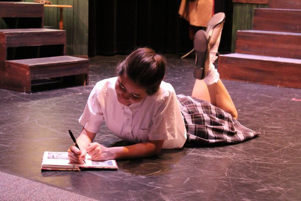 "Claire Tigner is the title character in ""The Diary of Anne Frank,"" with three performances at Thurston Middle School opening today, Friday, May 25."