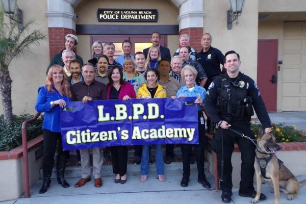 The 25th graduating class of the Citizen's Academy.