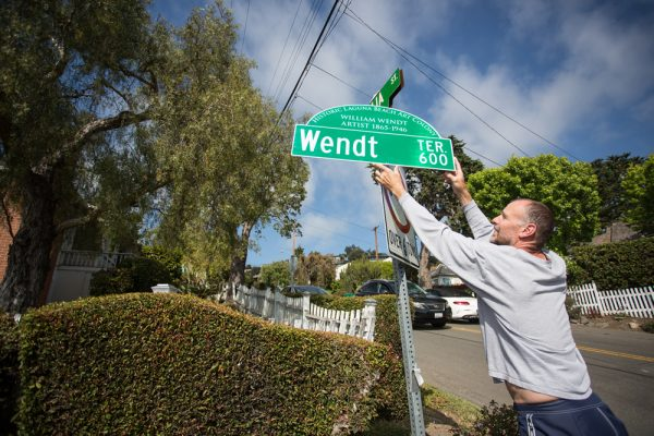 Replacement signs will soon be installed on several streets named after early artists