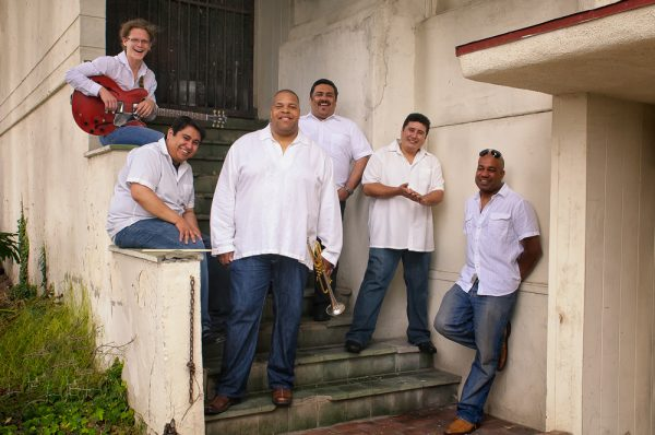 : Bijon Watson, center, leads the Latin Jazz Quartet, which performs Thursday, June 27.