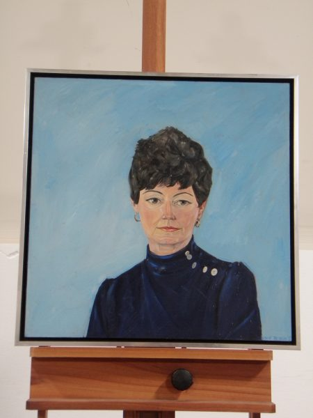 Portrait of Betty Turnbull by Lance Richbourg