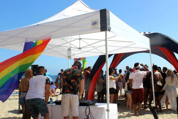 Pride Moth celebration in laguna Beach