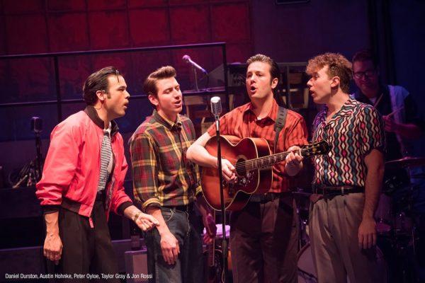 """Million Dollar Quartet"" opens at Laguna Playhouse for a three-week run."