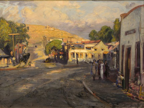 """The White House,"" by Joseph Kleitsch depicts Laguna life in 1930. Courtesy of the collection of the City of Laguna Beach."