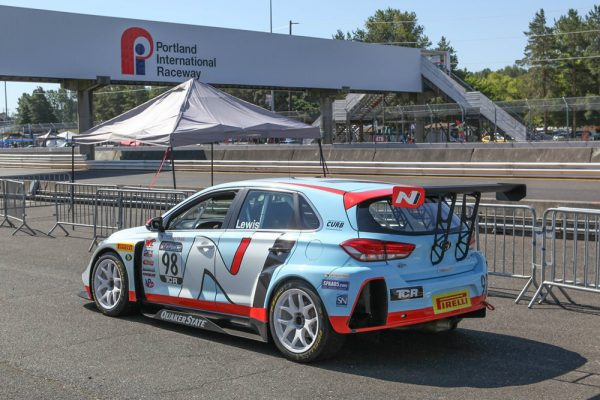 Michael Lewis' TCR class race car.