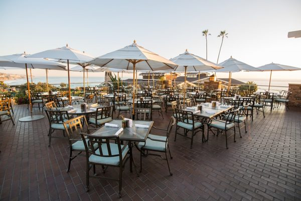 The resort's all-outdoor dining spot, Mosaic.