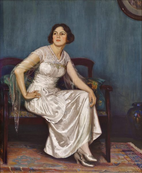 """The Artist's Wife"" from 1919 by Joseph Kleitsch is now in the collection of Simon K. Chiu."