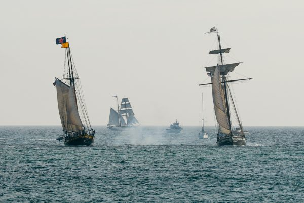 The Ocean Institute's annual Tall Ships Festival will return to Dana Point Harbor Sept. 7 -9. Photo courtesy of Ocean Institute