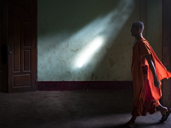 "Jeff Rovner's photograph ""Yangon Monastery, Myanmar"" was the inspiration for the city's inaugural art-inspired writing contest. Photo by Jeff Rovner"