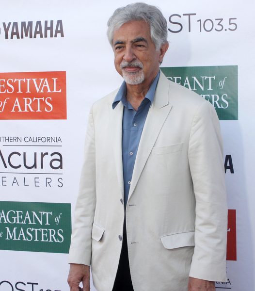 "Joe Mantegna, of ""Criminal Minds,"" at the Festival of Arts' celebrity benefit."
