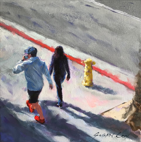 """""""No Parking"""" by Susan Cox is one of the pieces for sale as part of the Art-to-Go auction slated for Aug. 26."""