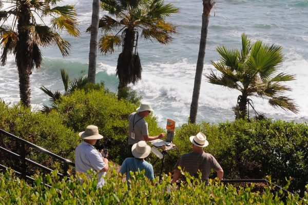 Painters are invited to participate in a Paint Out En Plein Air event at Heisler Park on Aug. 25 from 9 a.m. to noon.