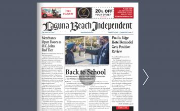 Laguna Beach news 031921