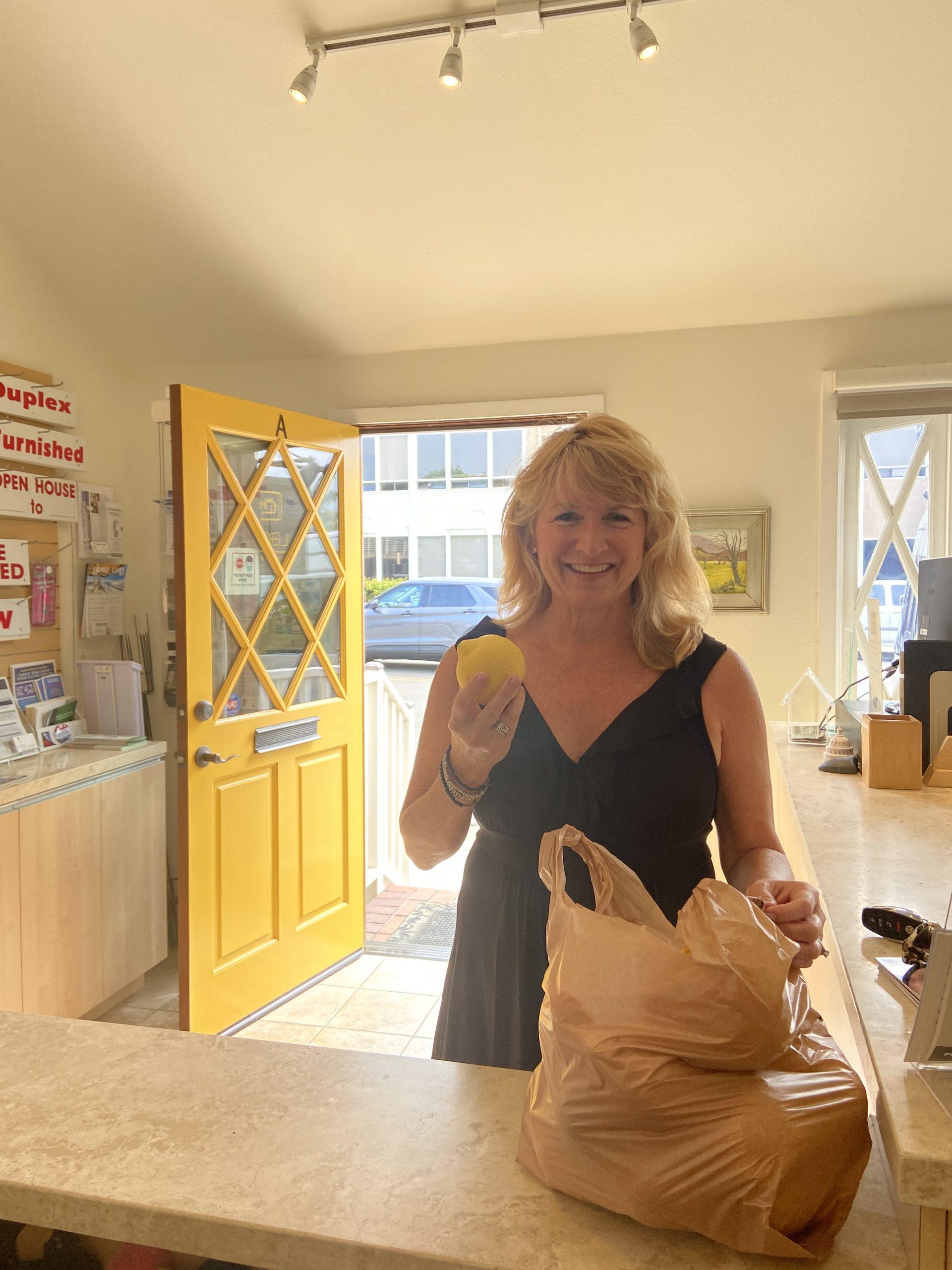 Laguna Realtor association donates homegrown produce to food pantry